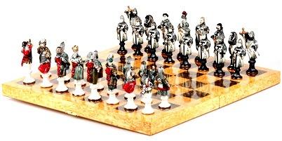 Шахматы. Виды и доски. Фигуры и материал. Применение