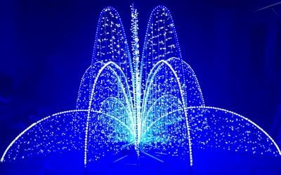Svetodiodnye fontany